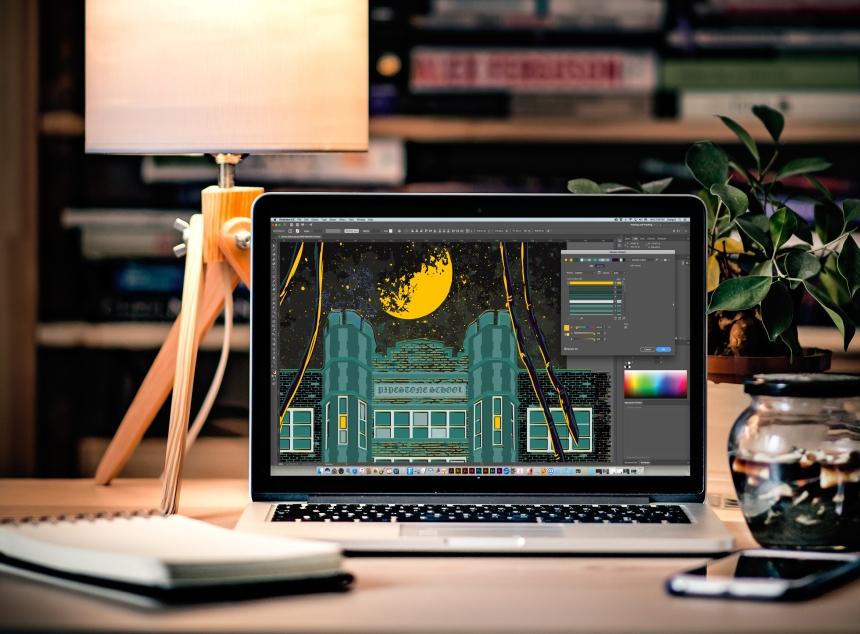 Plants Lap Macbook